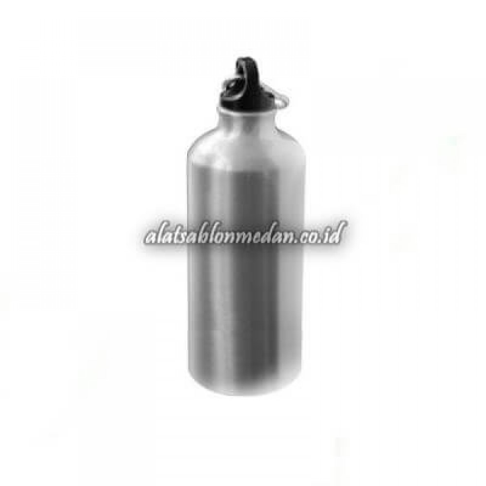 Sublime Blank Rhino Sport Bottle Thin Silver 600ml