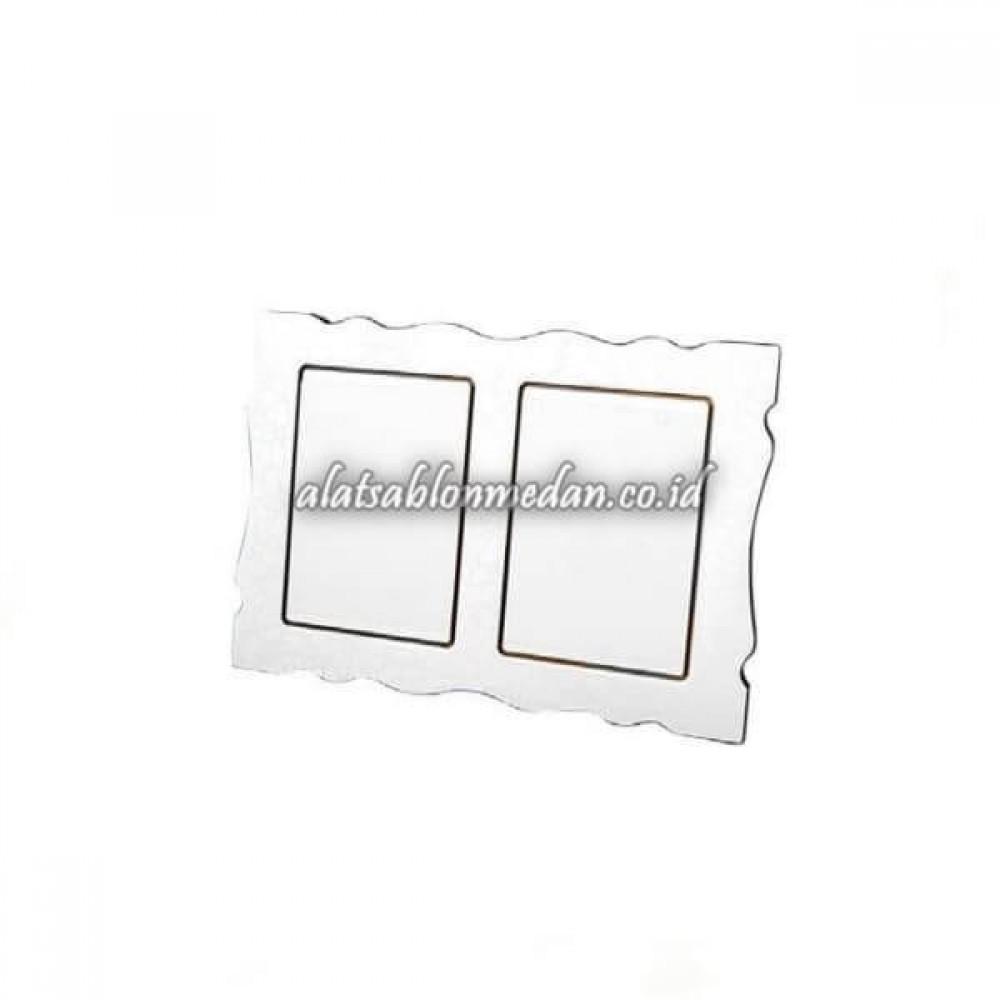 Sublime Blank Rhino Double Frame Globulite MDF WF-06