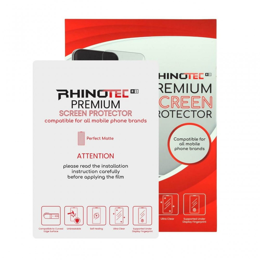 RHINOTEC Hydrogel Perfect Matte Anti Gores Screen Protector All Mobile Phone Brand