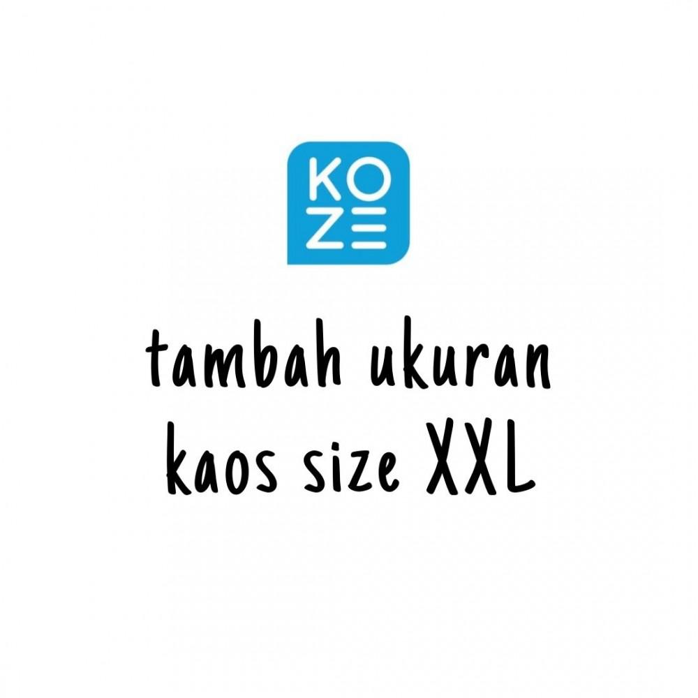 Tambah Ukuran Kaos Koze XXL