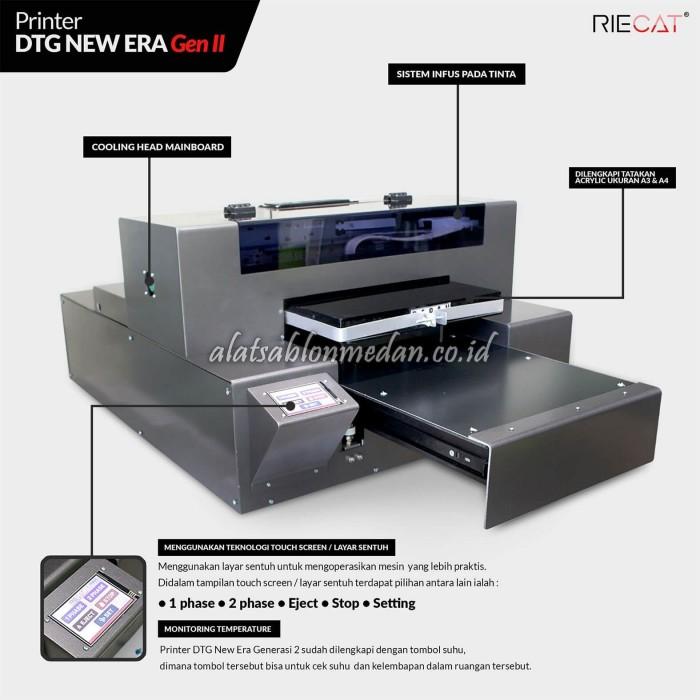 Mesin DTG Riecat   Printer DTG New Era Gen II