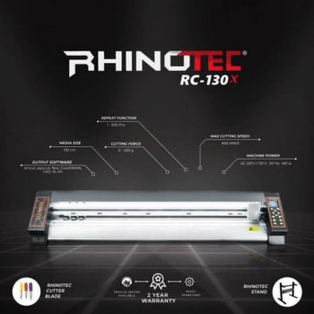 Rhinotec RC130-XA | Mesin Cutting Sticker