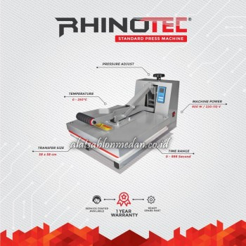 Rhinotec RTP-01 | Mesin Press Baju
