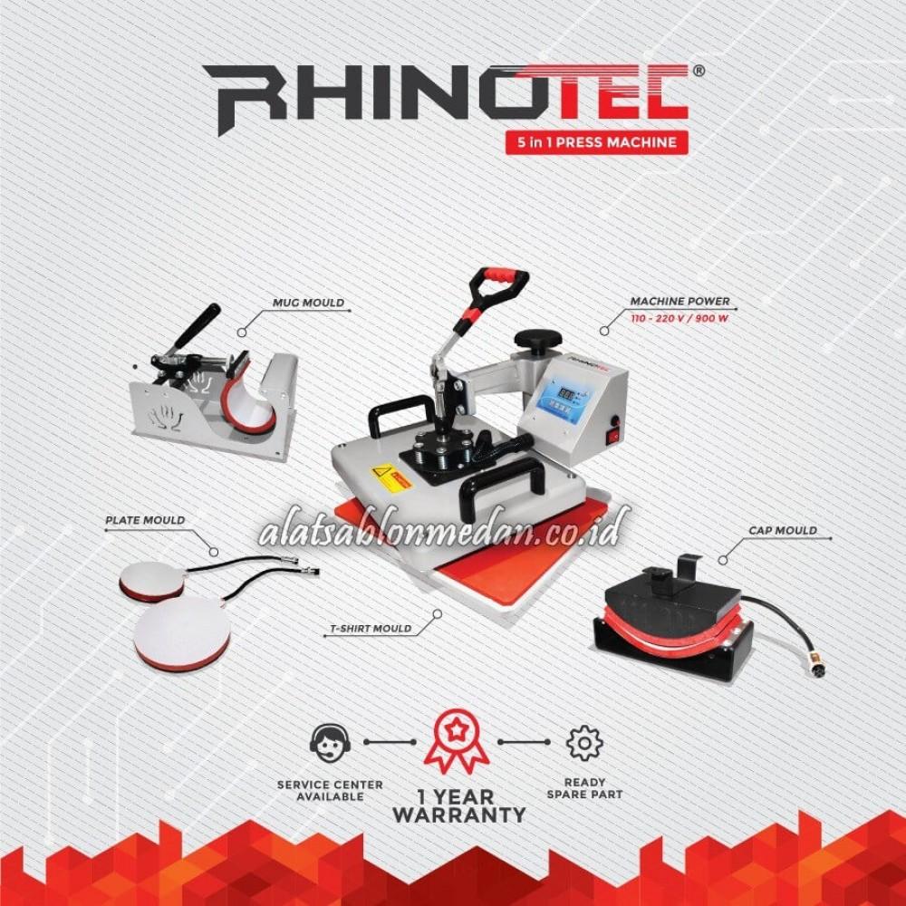 Rhinotec RTM-01 | Mesin Press 5 in 1