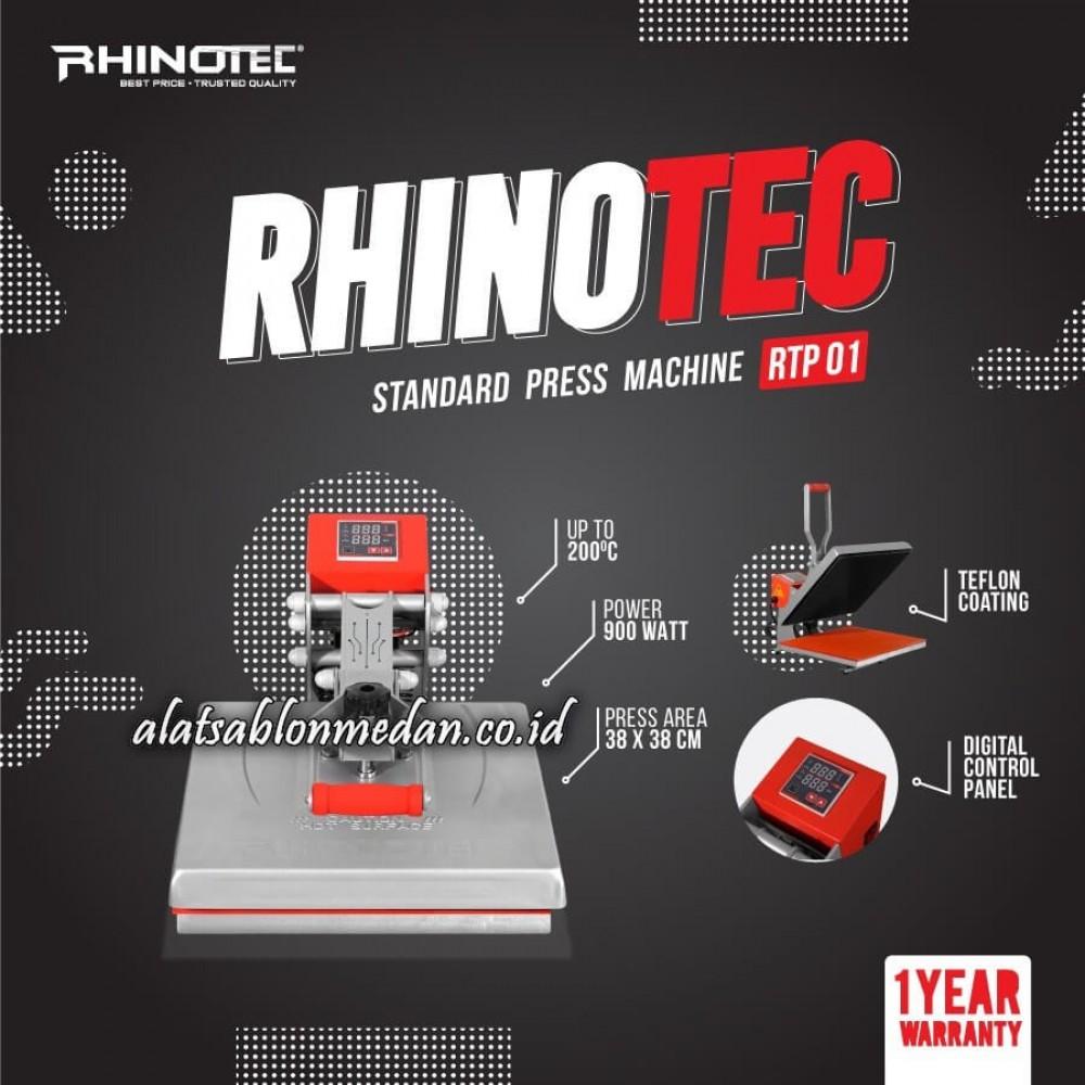 Rhinotec RTP-01 | Mesin Press Baju