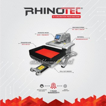 Rhinotec RSM-03 | Mesin Press Sublimasi 3D
