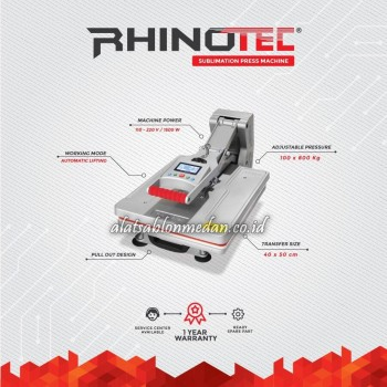 Rhinotec RSM-02 | Mesin Press Sublimasi
