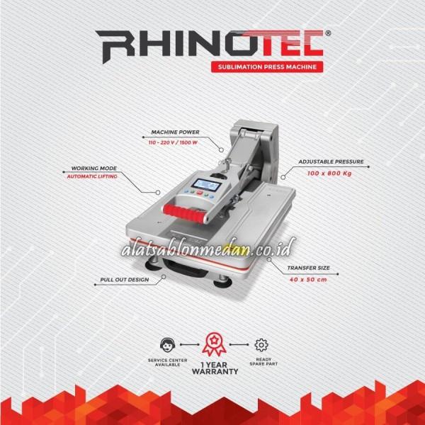 Rhinotec RSM-02 | Mesin Press Sublimasi