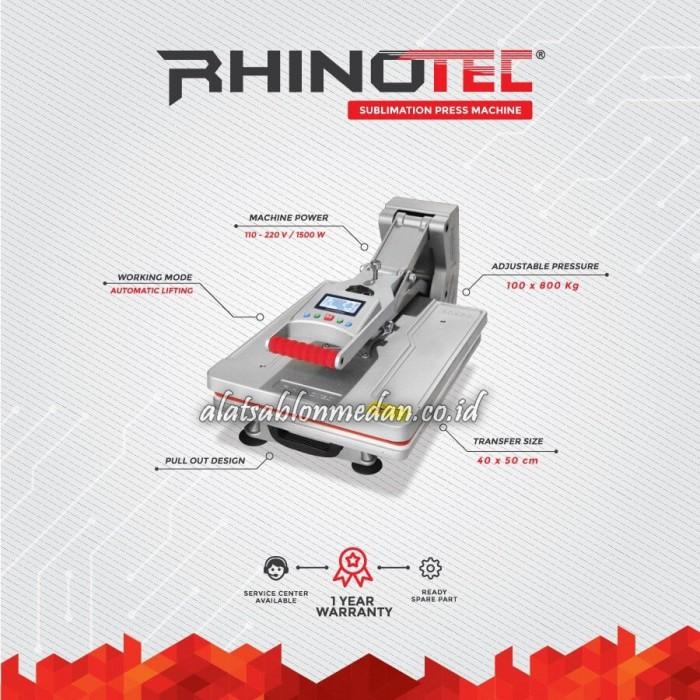 Rhinotec RSM-02   Mesin Press Sublimasi