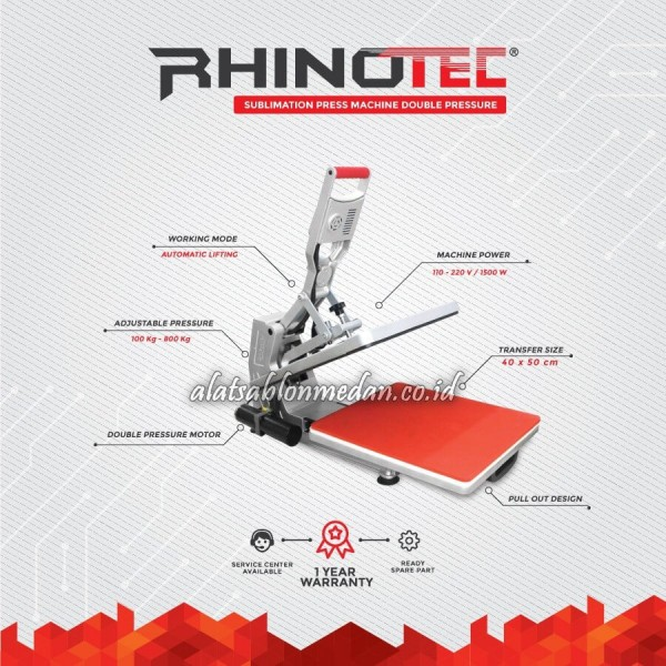 Rhinotec RSM-01 | Mesin Press Sublimasi