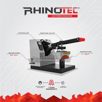 Rhinotec RTT-04 | Mesin Press Topi