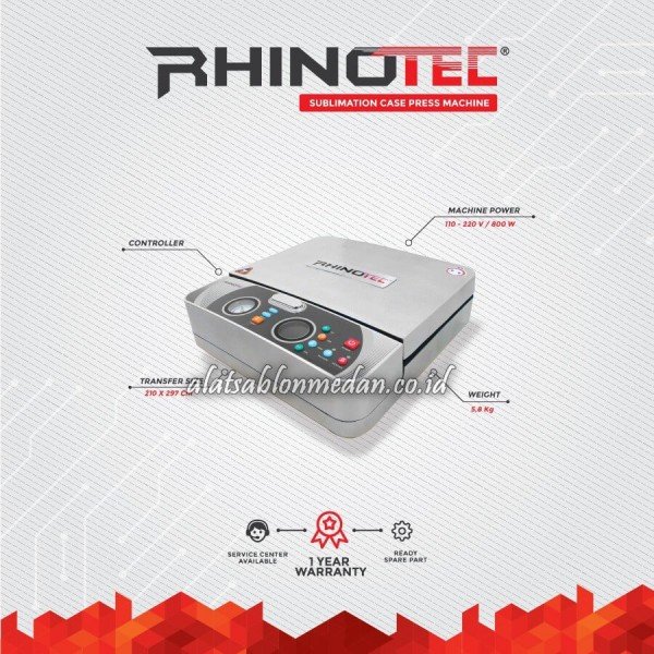 Rhinotec RSM-04 | Mesin Press Sublimasi Casing HP