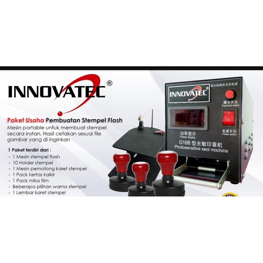 Paket Usaha Stempel Flash Innovatec