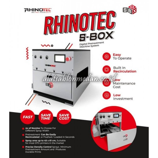 Mesin DTG Pretreatment Rhinotec S-Box