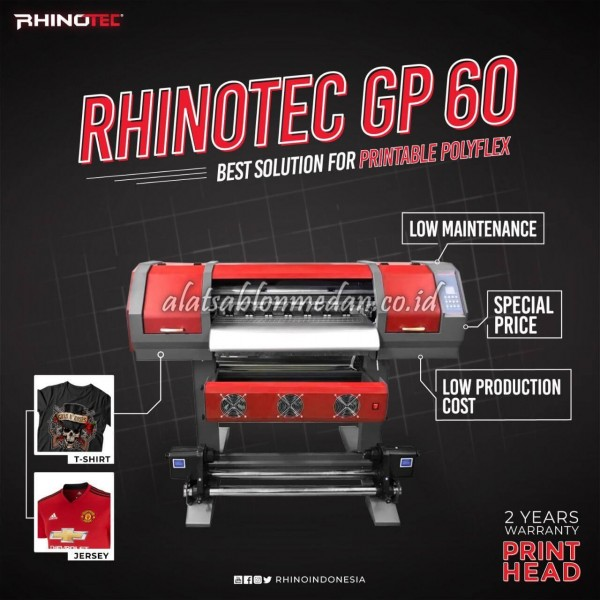 Mesin Digital Printing Indoor Rhinotec GP-60