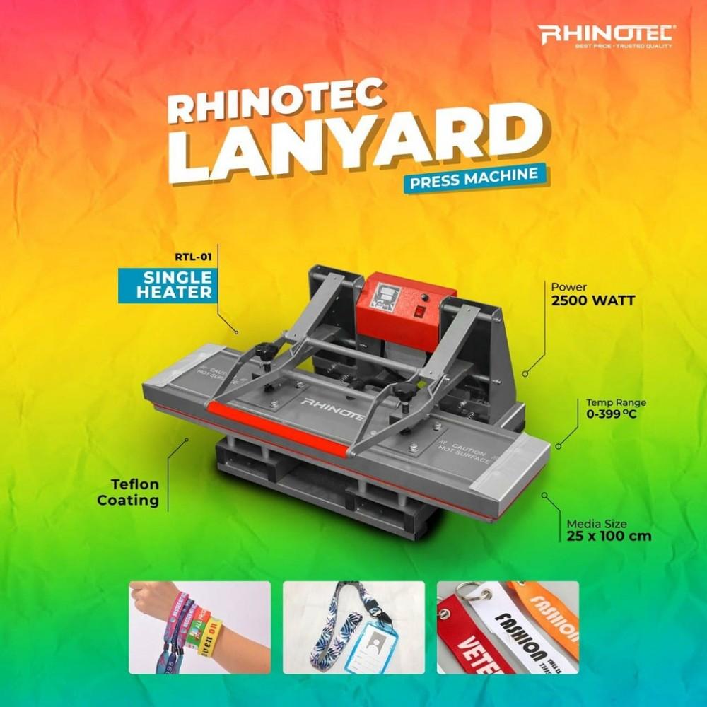 Rhinotec RTL-01 Mesin Press Lanyard Single Heat