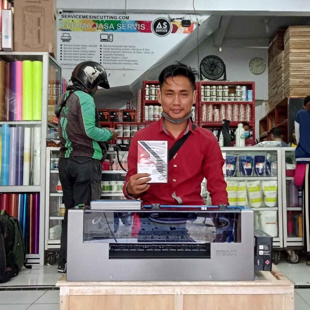 Mesin DTF Printer Riecat Alfa
