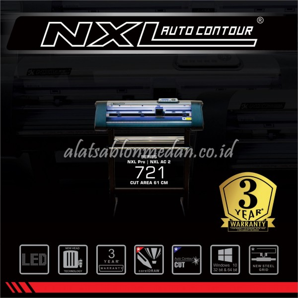 Jinka 721 NXL AC2 | Mesin Cutting Sticker