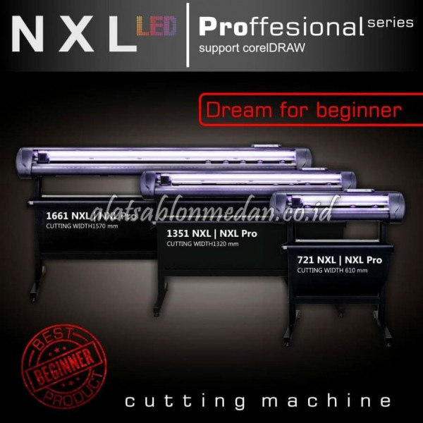 Jinka NXL PRO 1661 | Mesin Cutting Sticker