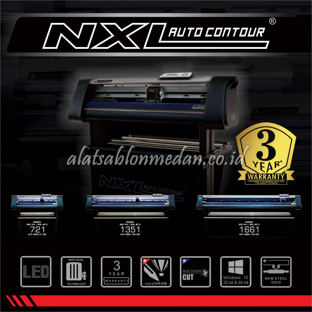 Jinka 1661 NXL AC2 | Mesin Cutting Sticker