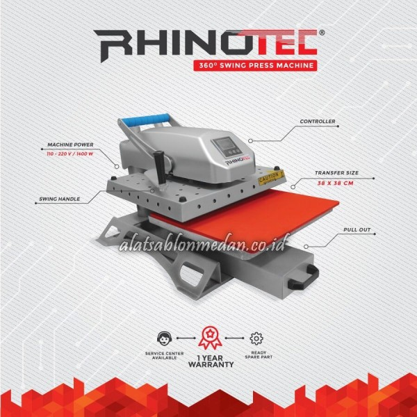 Rhinotec RTS-02 | Mesin Press Swing 360°