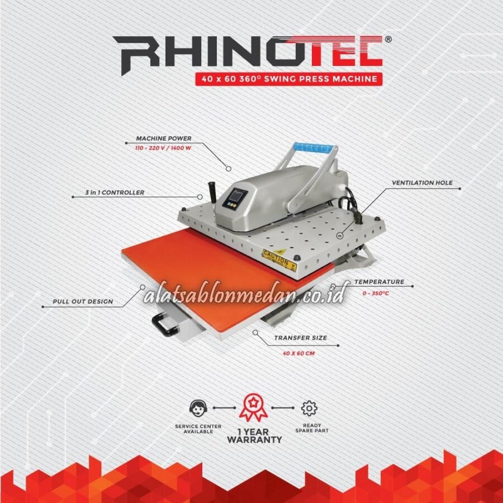 Rhinotec RTS-02 | Mesin Press Swing 360°
