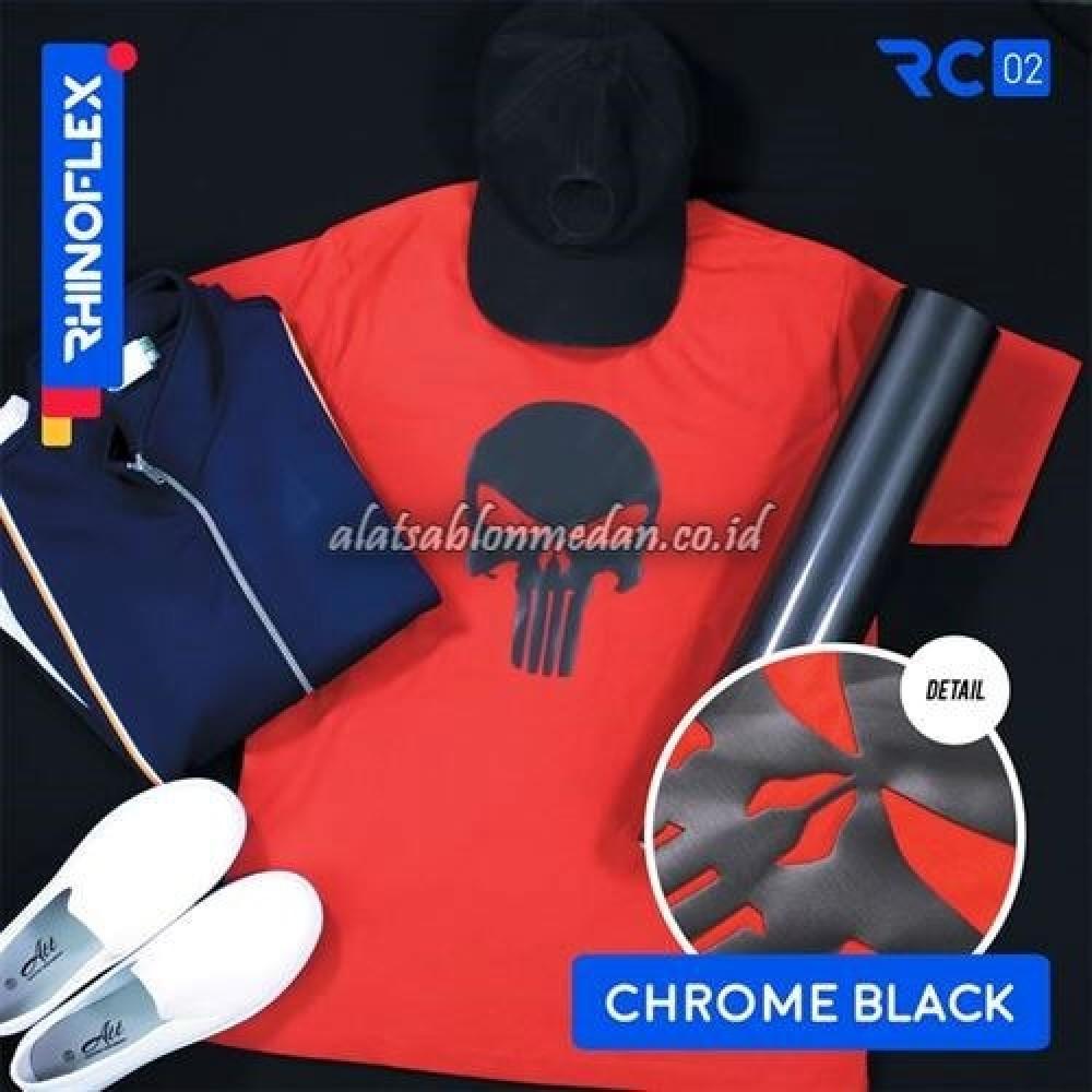Polyflex Chrome Black
