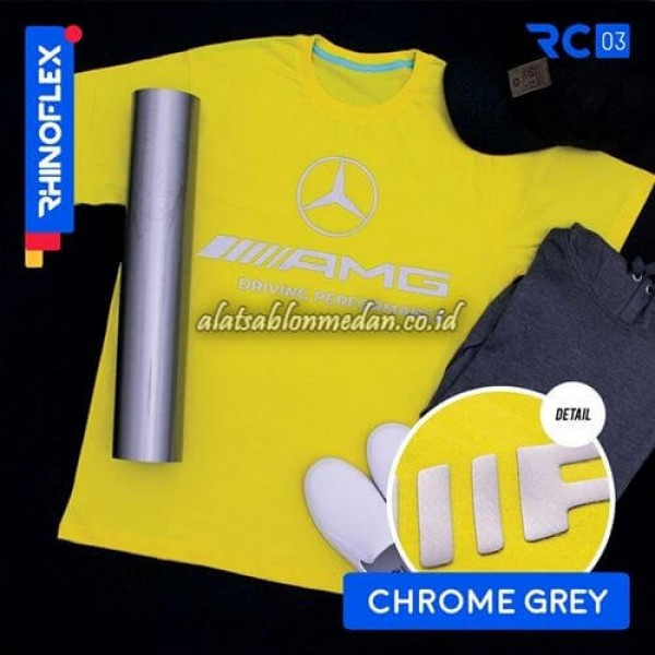 Polyflex Chrome Grey