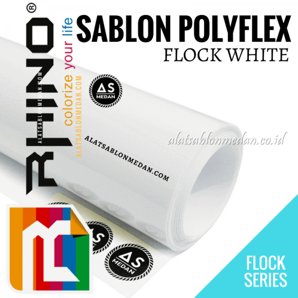 Polyflex Flock White