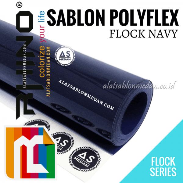 Polyflex Flock Navy