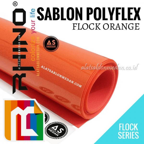 Polyflex Flock Orange