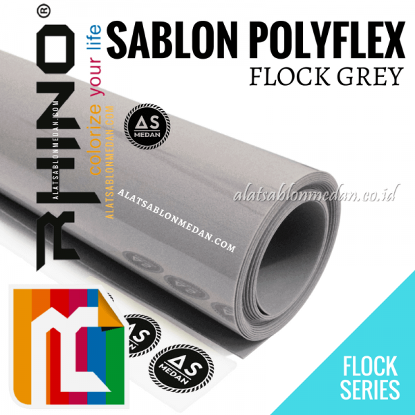 Polyflex Flock Grey
