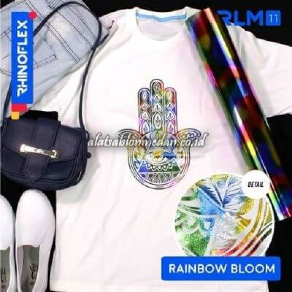 Polyflex Foil Rainbow Bloom