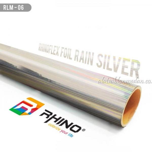 Polyflex Foil Rain Silver