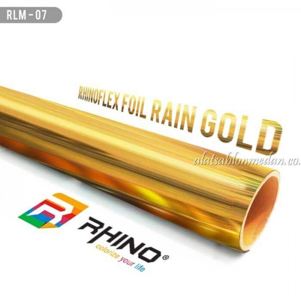 Polyflex Foil Rain Gold
