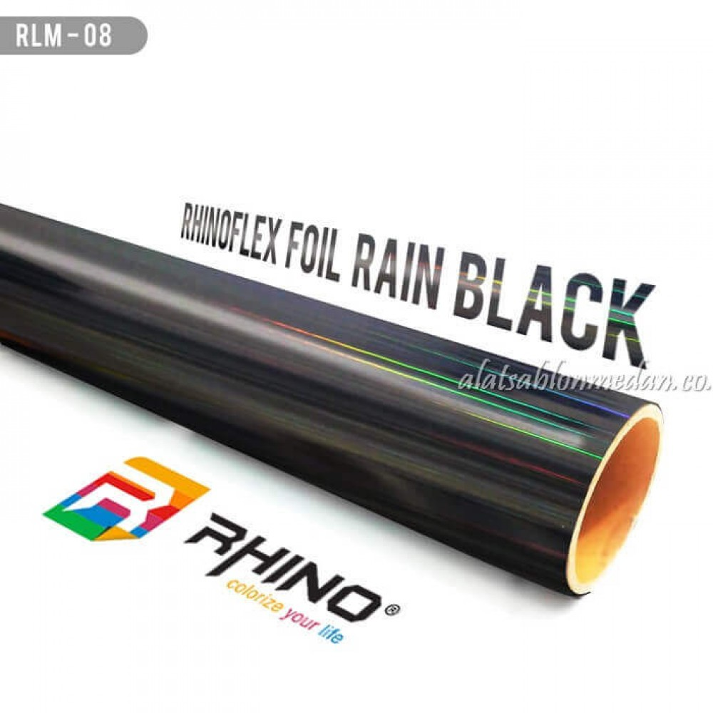Polyflex Foil Rain Black