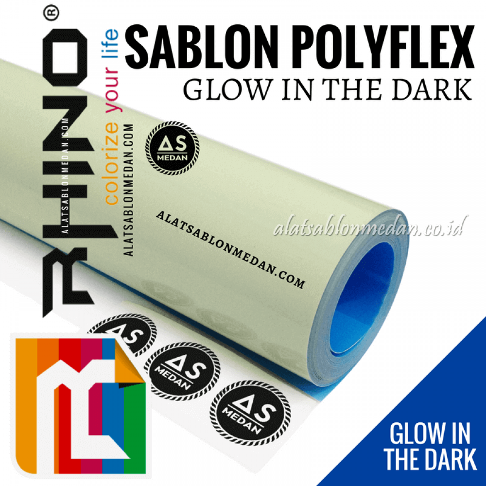 Polyflex Glow In The Dark