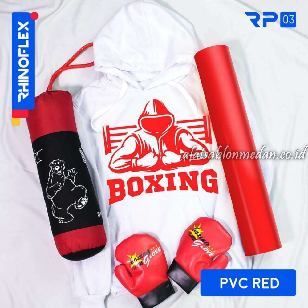 Polyflex PVC Red