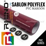 Polyflex PVC Maroon