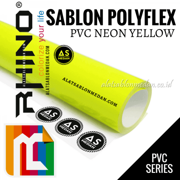 Polyflex PVC Neon Yellow