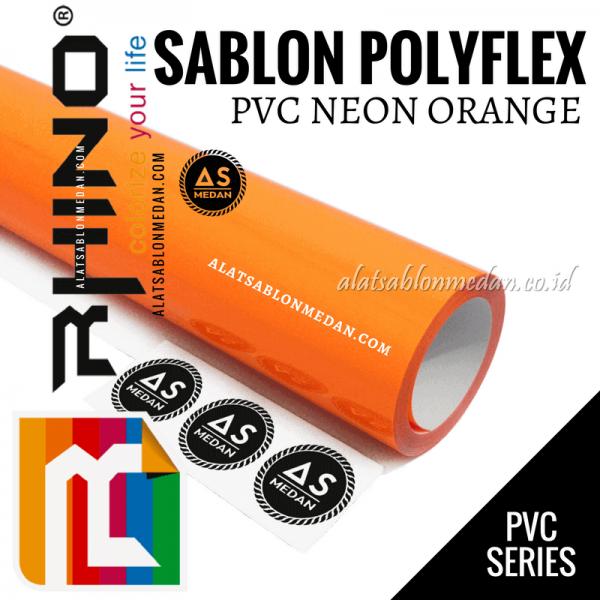 Polyflex PVC Neon Orange