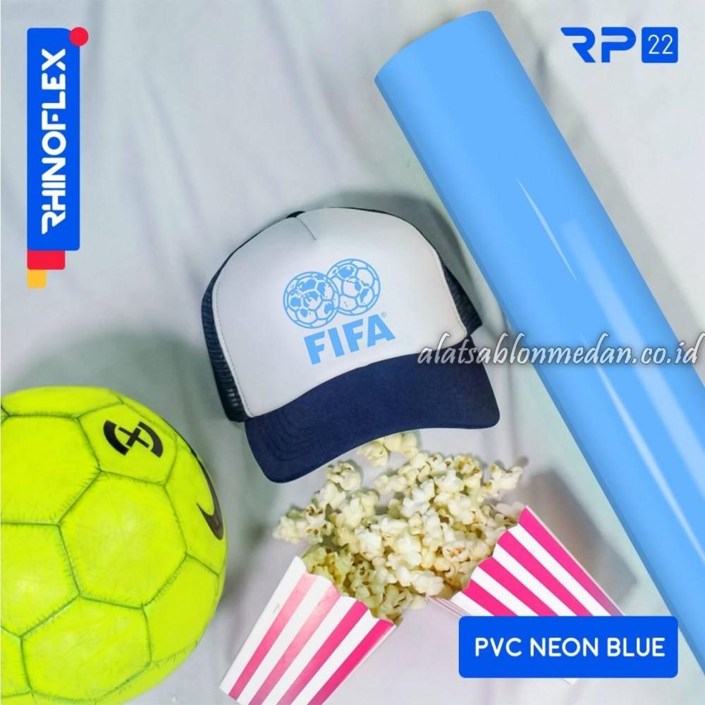 Polyflex PVC Neon Blue