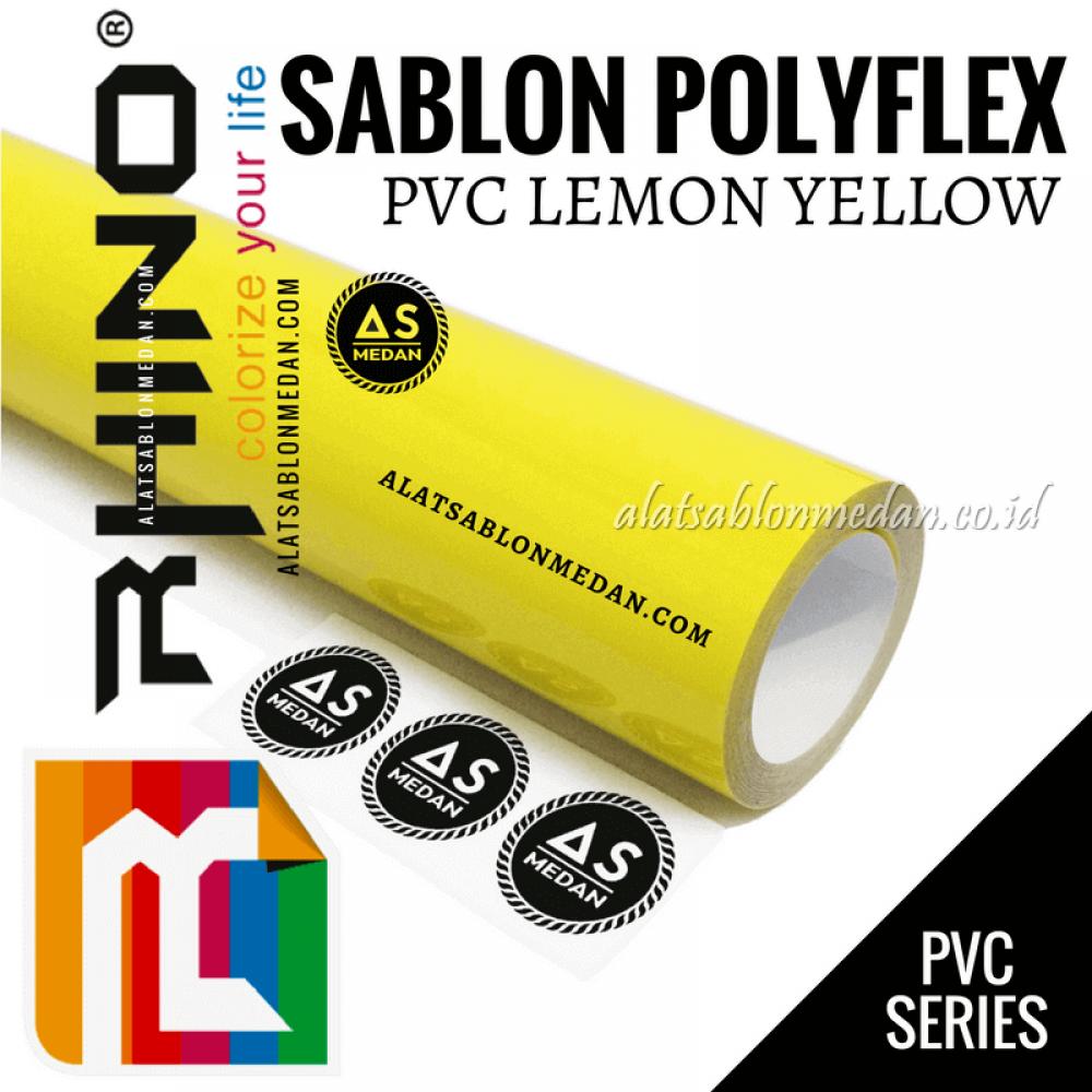 Polyflex PVC Lemon Yellow