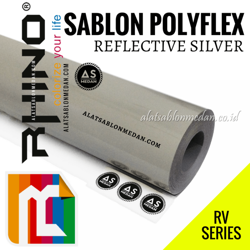 Polyflex Reflective Silver
