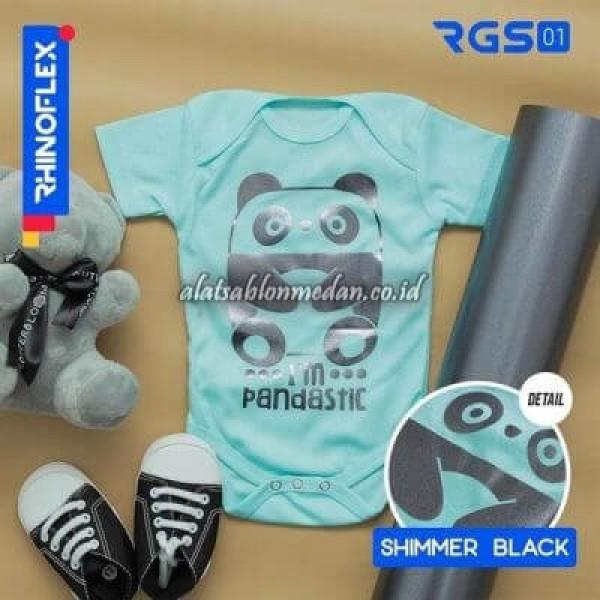 Polyflex Shimmer Black