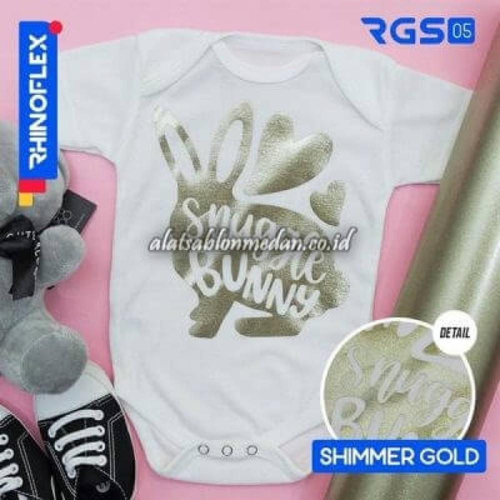 Polyflex Shimmer Gold