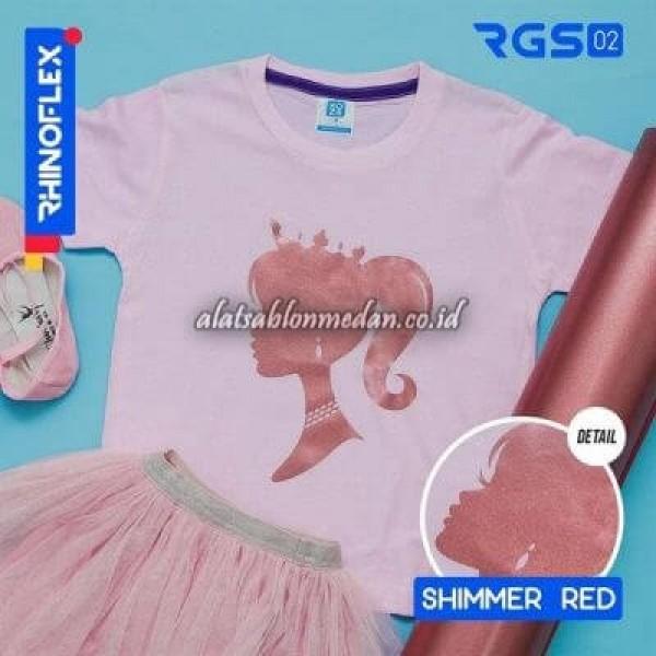Polyflex Shimmer Red