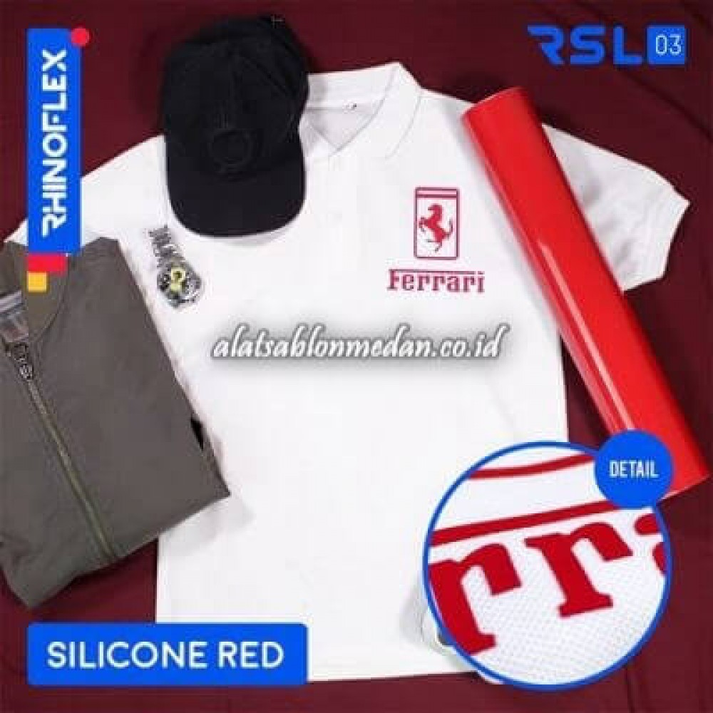 Polyflex Silicone Red