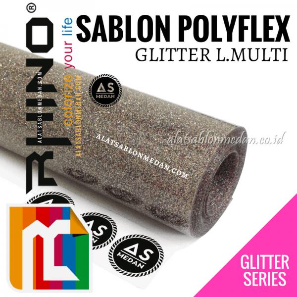 Polyflex Glitter L Multi