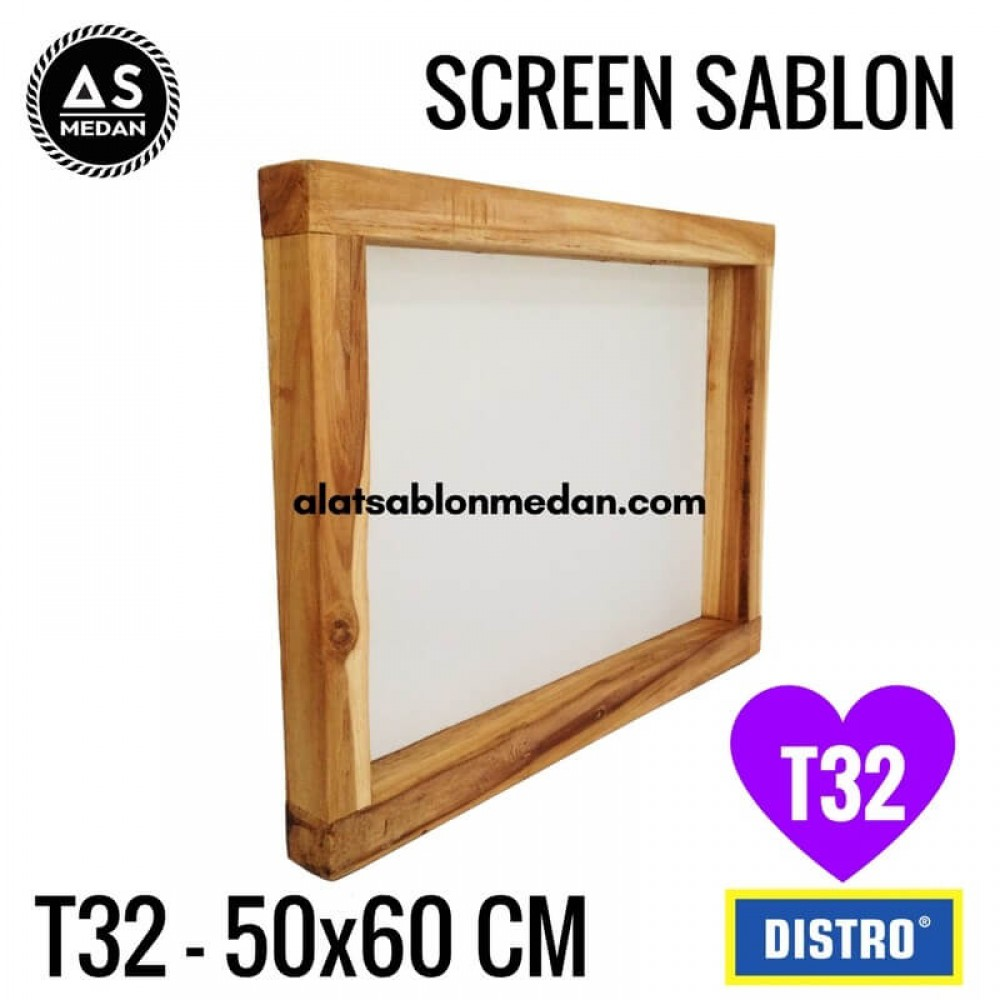 Screen Sablon T32 50x60 (KAYU)